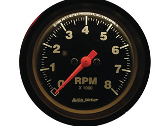 rev counter, auto meter
