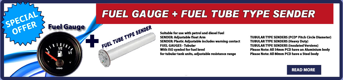 FUEL GAUGE AND SENDER