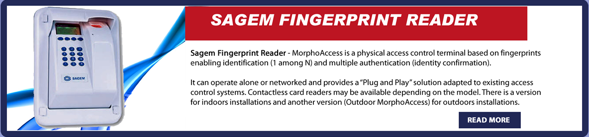 sagem fingerprint reader